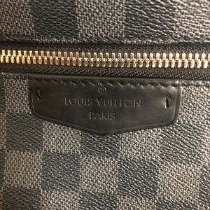 Louis Vuitton Bags - Authentic Louis Vuitton Josh Backpack in Graphite